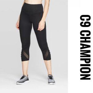 "NWT C9 Champion High Rise 20"" Capri Leggings XS"
